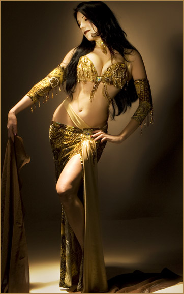 Sandra Bellydance Costumes Sale Golden Paisley Burgundy Gold Crystal Belly