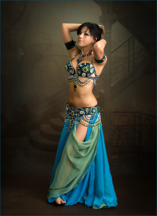 Sexy belly dancer and her lover 3 from iraq - 3 part 9